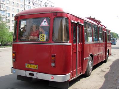ЛиАЗ-677М в Александрии