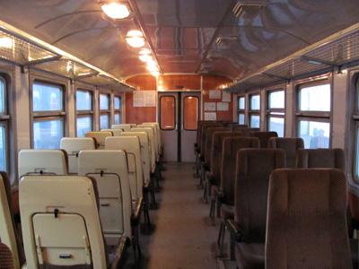 Когда-то такие вагоны ездили между Полтавой и Кременчугом