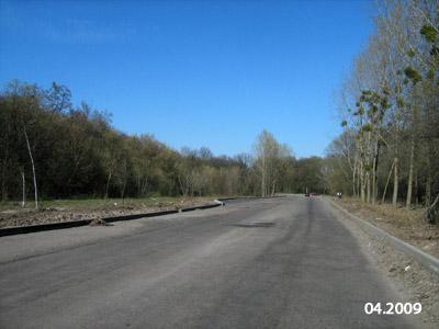 Вулиця Яківчанська у 2009 році
