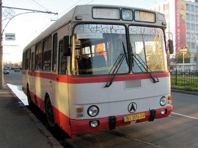 ЛАЗ-4969 в Полтаве