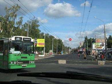 Вулиця Калініна у Полтаві