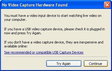Запуск Debut Video Capture Software