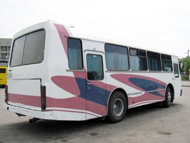 ЛАЗ-695Т на автовокзале в Полтаве