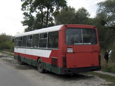 """""""Ярослава"""" во время заказной поездки 4 октября 2008 г."""