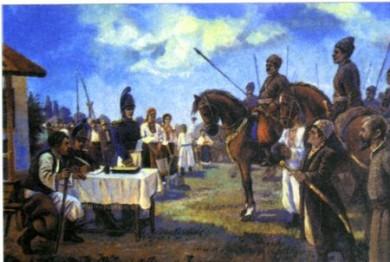 Іван Котляревський формує козацький полк