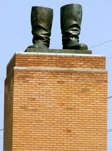 Stalin's Boots - Szoborpark, near Budapest