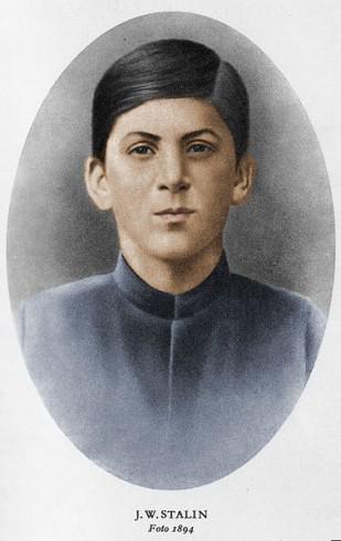Джугашвілі – учень духовної семінарії. 1894 р
