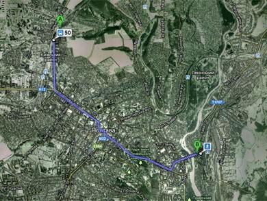 На картах Google з'явилася інформація про маршрути громадського