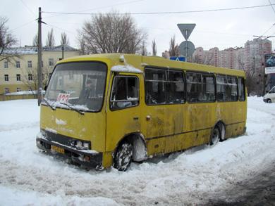 Брошенный автобус