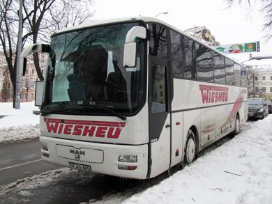 Автобус из Молдавии