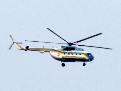 Вертолет МЧСников