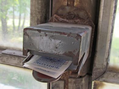 Билеты продаются у водителя и подлежат компосированию.
