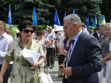 Явка бажаючих взяти участь у мітингу - як на виборах у Донецьку