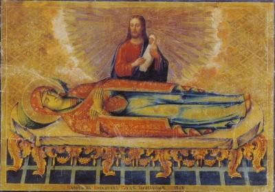 Ікона Успіння Пресвятої Борогодиці