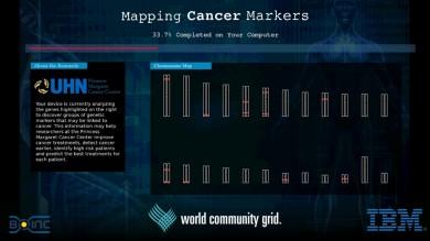 Проект, що допомагає побудувати карту ракових маркерів