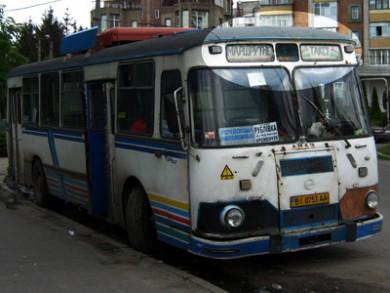 «Маршрутне таксі». Було і таке... (Кременчук, 2009 рік)
