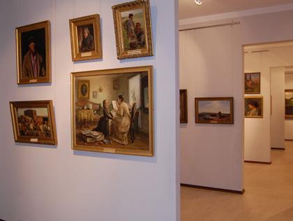 Експозиція Полтавського художнього музею