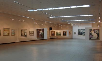 Велика виставкова зала Галереї мистецтв