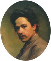 Микола Ярошенко. Автопортрет