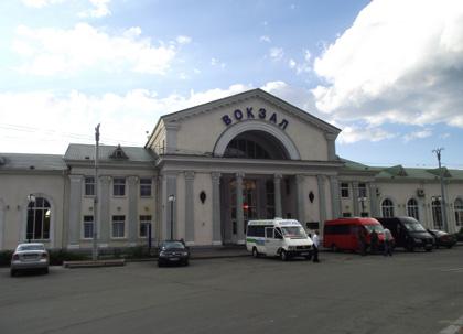 Київський вокзал у Полтаві. Фото
