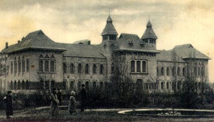 Новий будинок Губернського земства у Полтаві. Фото