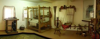 Інтер'єр селянського будинку. Фото