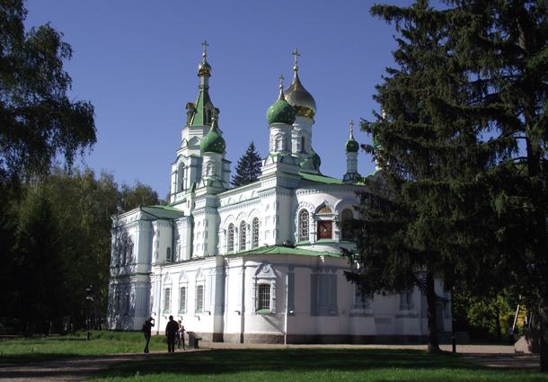 Сампсоніївська церква у Полтаві. Фото