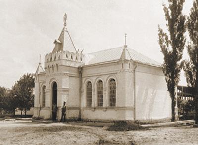 Перший музей історії Полтавської битви. Архівне фото