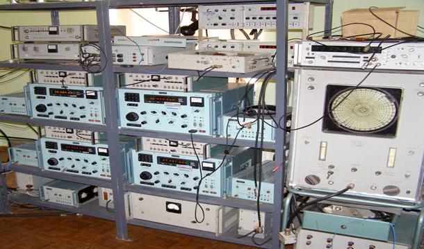 Прилади для роботи з радіотелескопом УРАН-2