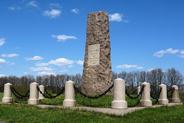 Пам'ятник шведам від співвітчизників. Фото
