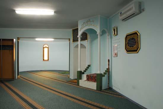 Молельный зал мечети