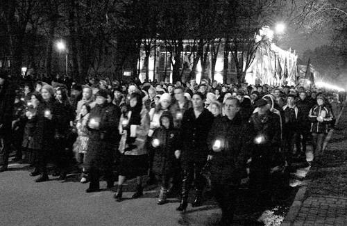 Хода пам'яті жертв Голодомору