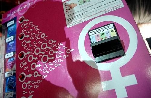 Кондомат – автомат для продажу презервативів