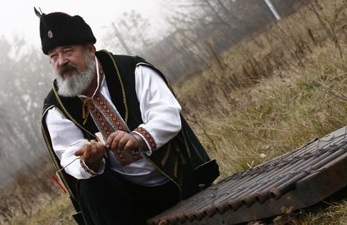 Епізод з інсценізації Полтавської битви