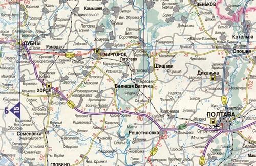 Автомобільна дорога Київ-Харків-Довжанський (ділянка Лубни-Полтава)