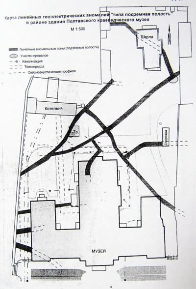 Підземні ходи в районі краєзнавчого музею