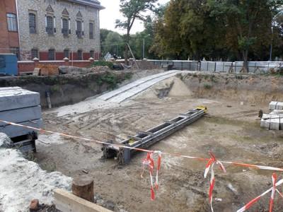 Котлован біля Полтавського краєзнавчого музею