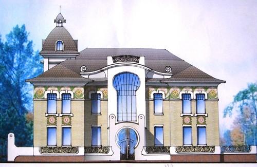 Проект адміністративного будинку по вул. Конституції, 4 в м. Полтава