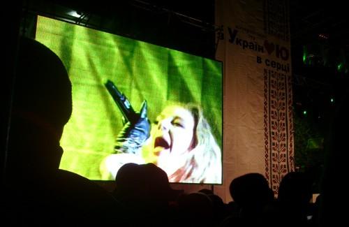 Виступ Тіни Кароль на коцерті «З Україною в серці» у Полтаві