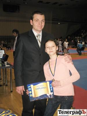 Юрий Вдовицкий с дочерью Кариной Вдовицкой