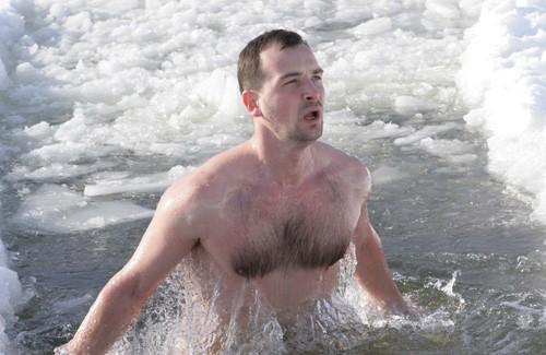 Главное для моржа — моральная подготовка