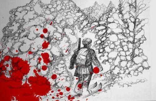 В полтавских лесах охотник убил егеря