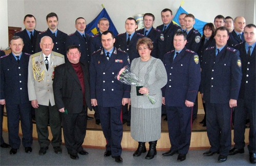Ветерани податкової служби Полтавщини