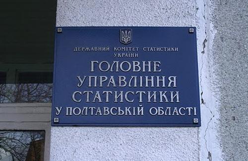 Головне управління статистики Полтавської області