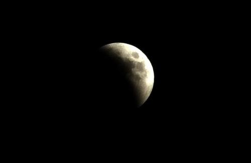 Лунное затмение в Полтаве