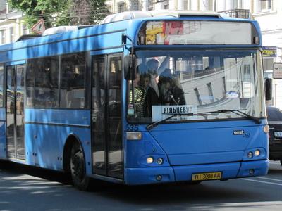 Автобус большой вместимости, ранее не работавший на «Кольцевом»