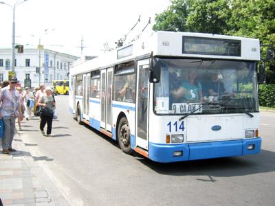 Кільцевий тролейбус