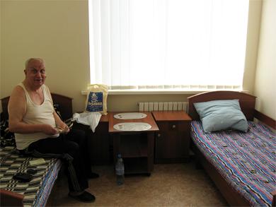 Двухместная палата терапевтического отделения