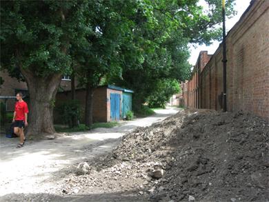 Вулиця Павлова у Полтаві
