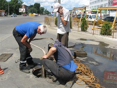 Подрядчики «Полтавагаза» испортили сети «Полтававодоканала»